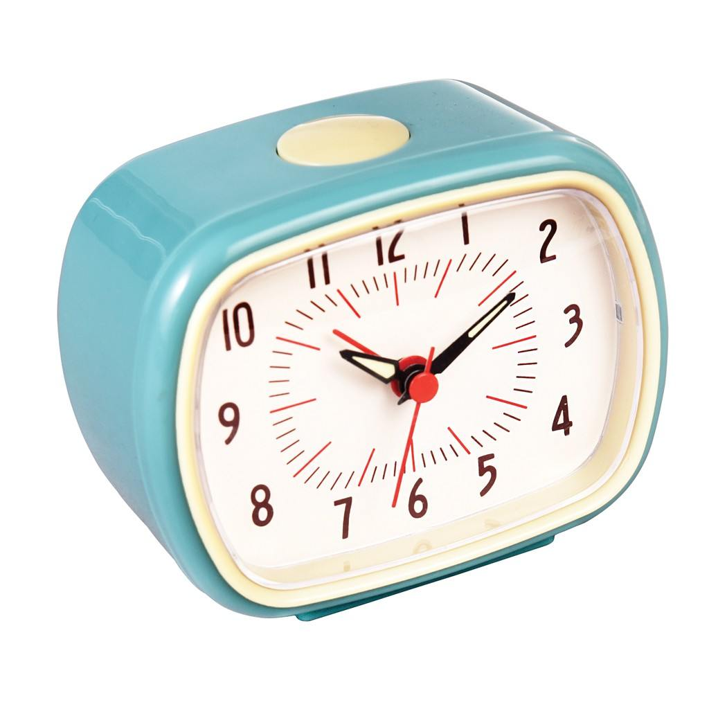 Väckarklocka Retro Blå
