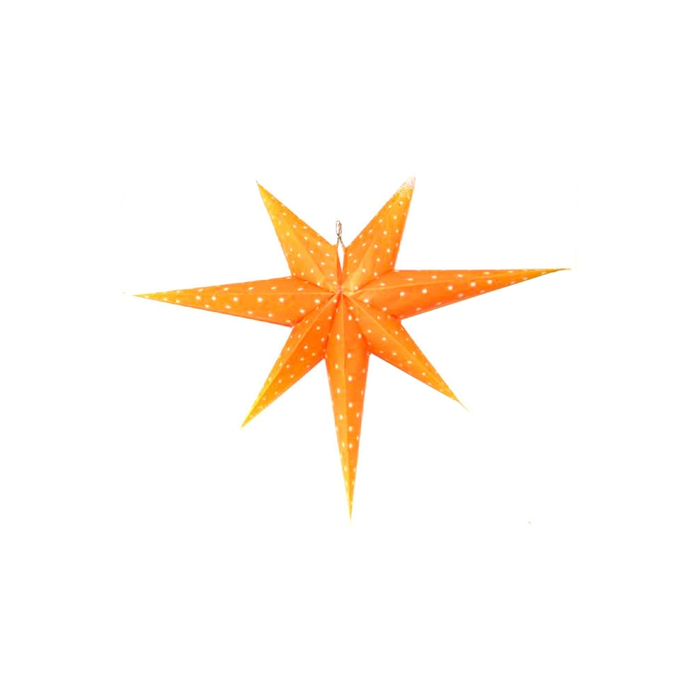 Adventsstjärna Orange